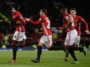 Bóng đá - MU - Mourinho thắng kịch tính: Tinh thần Fergie bất diệt