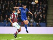 Bóng đá - Leicester - West Ham: Cú đánh đầu ngăn khủng hoảng