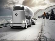 Tư vấn - Mercedes-Benz E-Truck thiết kế như vật ngoài hành tinh