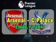 "Arsenal - C.Palace:  "" Pháo ""  quyết nổ, vượt Man City"