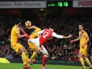 Arsenal - Crystal Palace: Bùng nổ nhờ bàn thắng không tưởng
