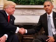 Thế giới - Đối đầu Trump-Obama chưa từng có tiền lệ trong lịch sử Mỹ