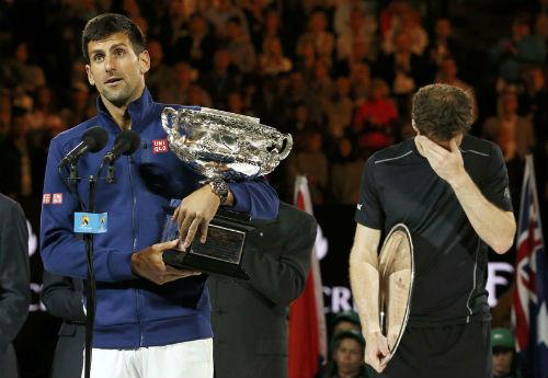 """Australian Open 2017: Djokovic là """"gai trong mắt"""" Murray"""