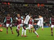 Bóng đá - West Ham - MU: Thẻ đỏ, De Gea & người hùng dự bị