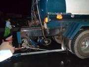 Xe máy tông xe bồn, 2 thanh niên tử vong tại chỗ