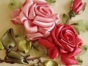 Thời trang - Bí quyết thêu hoa xinh trang trí quần áo cực điệu