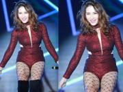 Ca nhạc - MTV - Hòa Minzy ngày càng chuộng đồ diễn ngắn cũn cỡn