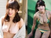 Làm đẹp - 9 giai nhân có vòng 1 hấp dẫn nhất Nhật Bản