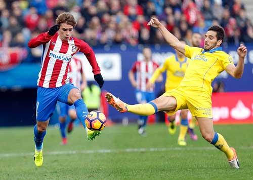 Las Palmas – Atletico Madrid: Mở hàng mỹ mãn
