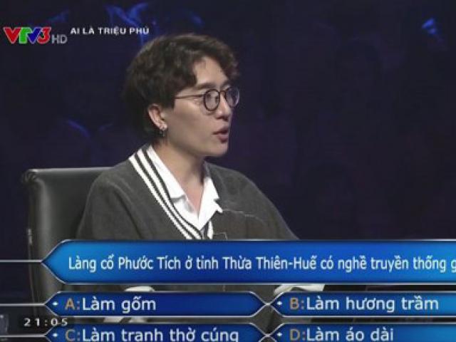 Tác giả bản hit của Hà Hồ giành 40 triệu tại Ai là triệu phú