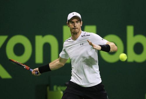 """Qatar Open ngày 3: Murray """"hú vía"""" vào tứ kết"""