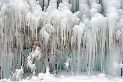Chiêm ngưỡng thác băng đẹp như mơ ở TQ - 2