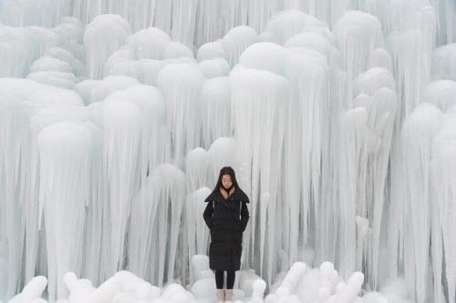 Chiêm ngưỡng thác băng đẹp như mơ ở TQ - 4