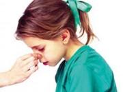 Sức khỏe đời sống - Bệnh ung thư nào có triệu chứng chảy máu mũi, chảy máu chân răng?