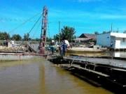 Kiên Giang: Cây cầu từ thiện bị sập khi sắp hoàn thành