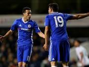 Bóng đá - Chelsea thua sốc, Costa và Pedro cãi vã ngay trên sân