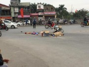 Tin tức trong ngày - Hà Nội: Xe tải bỏ chạy sau khi cán chết người phụ nữ