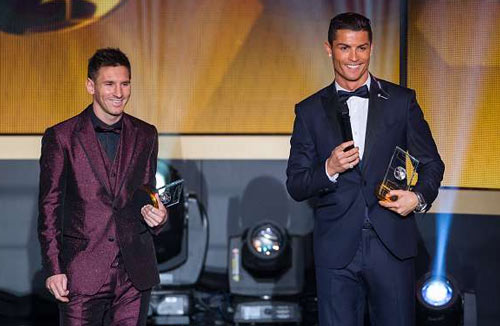 Cuộc đua số 1: Sau Ronaldo – Messi là Neymar – Griezman