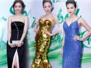 """Thời trang - Tóc Tiên, Hari Won """"ăn điểm"""" nhờ váy khoe thềm ngực"""