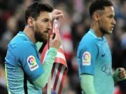 Bóng đá - Bilbao - Barcelona: 9 người dũng cảm & cú sốc đầu năm
