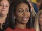 Thế giới - Vợ Obama phát biểu lần cuối cùng trước khi rời Nhà Trắng