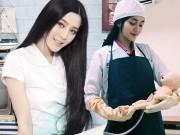 Bạn trẻ - Cuộc sống - Nữ bác sĩ xinh đẹp gây chú ý vì giống Phạm Băng Băng