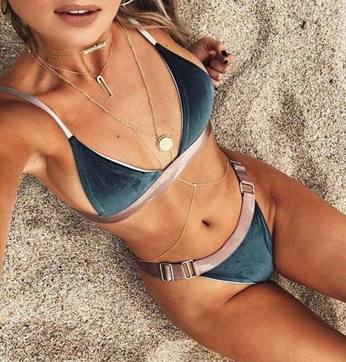"""Bikini bằng nhung sẽ """"thống trị"""" bãi biển năm 2017? - 4"""