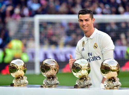 Cầu thủ xuất sắc nhất FIFA 2016: Ronaldo đấu Messi