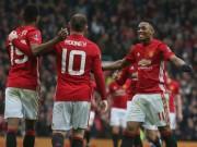 Bóng đá - Hàng công MU: Mỗi trận Mourinho nhận một niềm vui