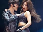 Tin tức giải trí - Bạn gái Lee Min Ho ngày càng diễn táo bạo trên sân khấu