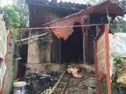 Tạt axit hàng xóm rồi châm lửa đốt nhà tự tử