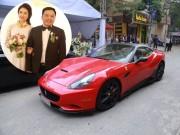 Thời trang - Choáng với dàn siêu xe trong đám cưới Hoa hậu Thu Ngân