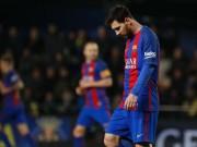 """Bóng đá - Đua Liga với Real: Messi hóa """"Thánh"""" không cứu nổi Barca"""