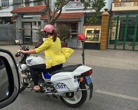 Người phụ nữ lái xe đặc chủng CSGT Hải Phòng nói gì? - 4