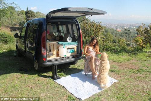 Cô gái bỏ việc để cùng cún cưng du lịch dài ngày - ảnh 5