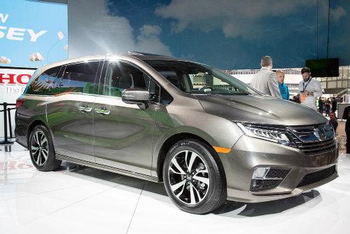 """2018 Honda Odyssey với ghế ngồi """"thần thánh"""""""
