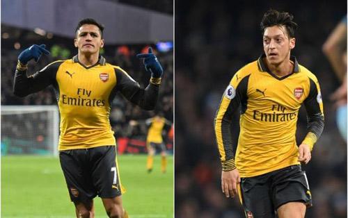 Cặp đôi hoàn hảo Premier League: Nhất Ozil – Sanchez