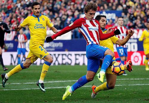 Atletico Madrid - Las Palmas: Vùng dậy thật khó tin - 1