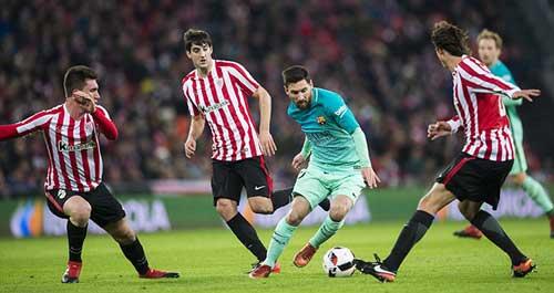 """Barcelona – A.Bilbao: Không thắng chỉ có nước """"độn thổ"""""""