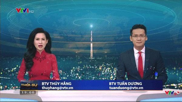 Thêm một BTV rút khỏi Bản tin thời sự 19h của VTV - 1