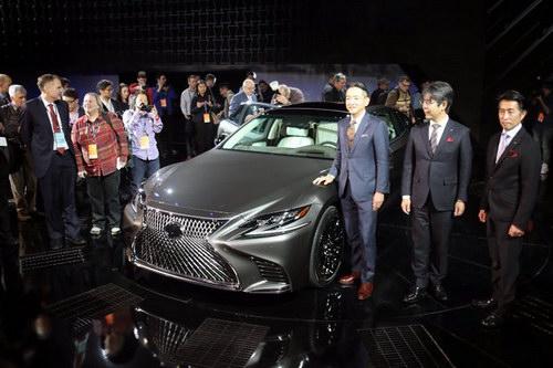 Sedan hạng sang Lexus LS 2018 lột xác toàn diện - ảnh 1