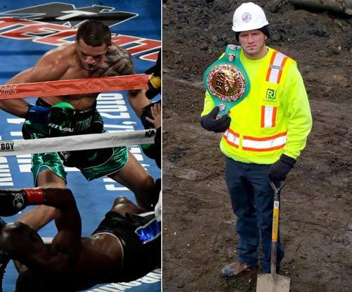 Choáng boxing: Chàng thợ xây knock-out huyền thoại