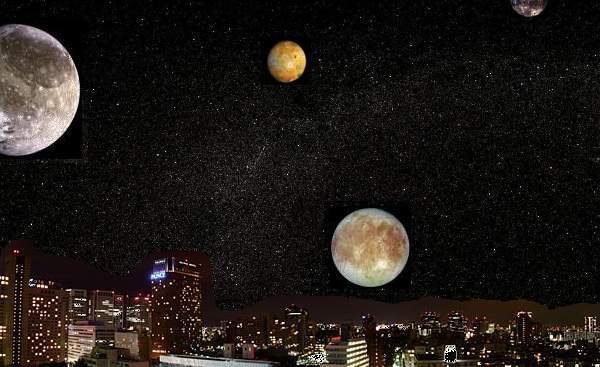 Trái đất từng có cả tá mặt trăng? - ảnh 1