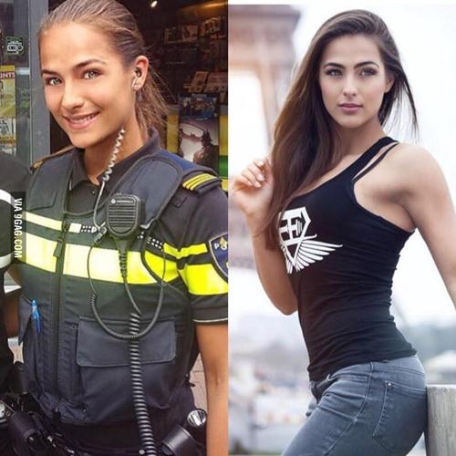 """Nữ cảnh sát sexy khiến cộng đồng mạng """"phát sốt"""" - 1"""