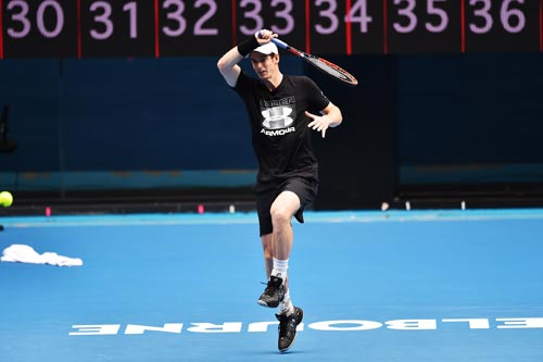 """Australian Open: Siêu sao """"căng mình"""" chạy đà - ảnh 4"""