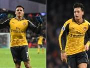 Bóng đá - Cặp đôi hoàn hảo Premier League: Nhất Ozil – Sanchez
