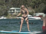 """Thể thao - Cựu số 1 thế giới diện bikini """"thả dáng"""" tại Australian Open"""