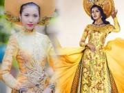 Áo dài Việt họa tiết rồng quá kỳ công và ấn tượng với quốc tế