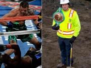 Thể thao - Choáng boxing: Chàng thợ xây knock-out huyền thoại