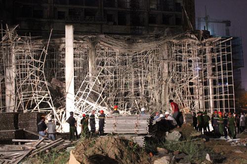 Nguyên nhân vụ sập giàn giáo tòa nhà đang xây ở Đà Nẵng